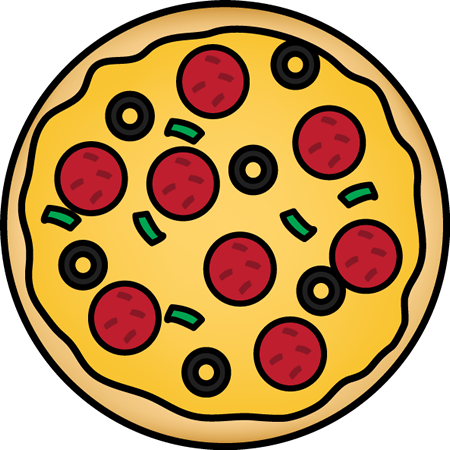 450x450 Whole Pizza Clip Art