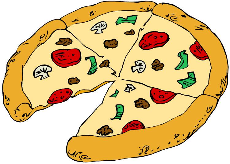 Plain Pizza Clipart