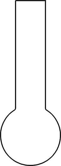 Plain Thermometer