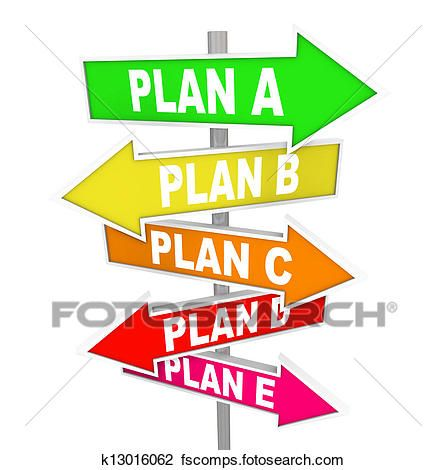 446x470 New Plan Clipart Clip Art Of Many Plans Rethinking Strategy Plan