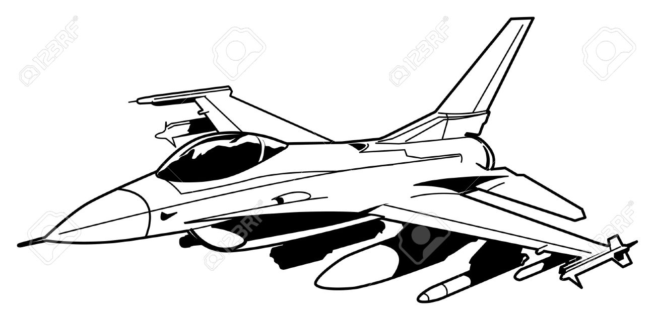 1300x637 Drawn Aircraft Black And White