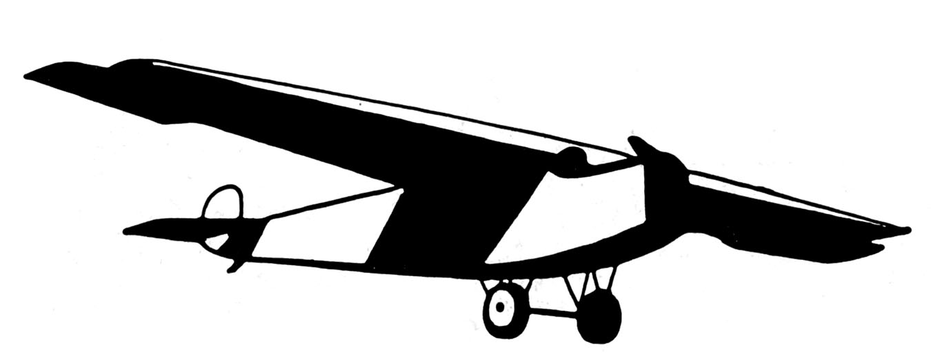 1350x522 Vintage Clip Art Black And White Airplanes The Graphics Fairy