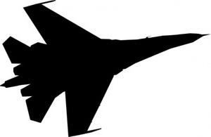 300x195 Air Force Plane Clip Art