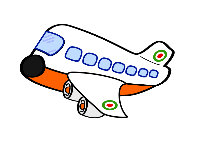 800x582 Airplane Free Cartoon Plane Clip Art Dromfch Top