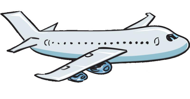 800x416 Clip Art Plane