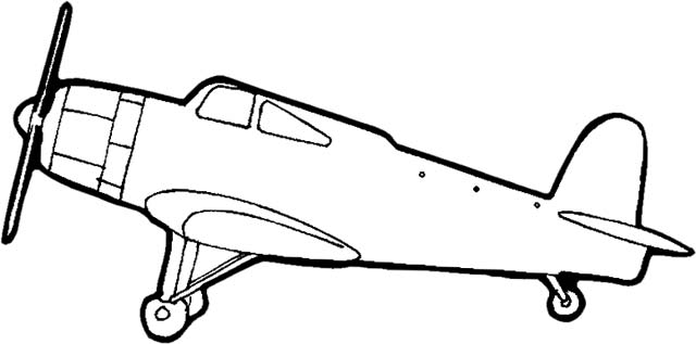 640x317 Airplane clipart black and white free images 3