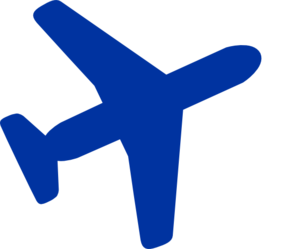 298x249 Aviation Clipart Blue Plane