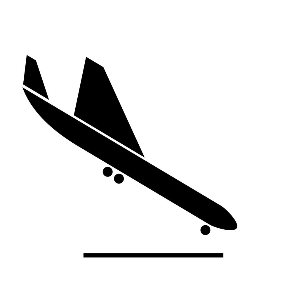 1024x1006 Flight Clipart Plane Landing