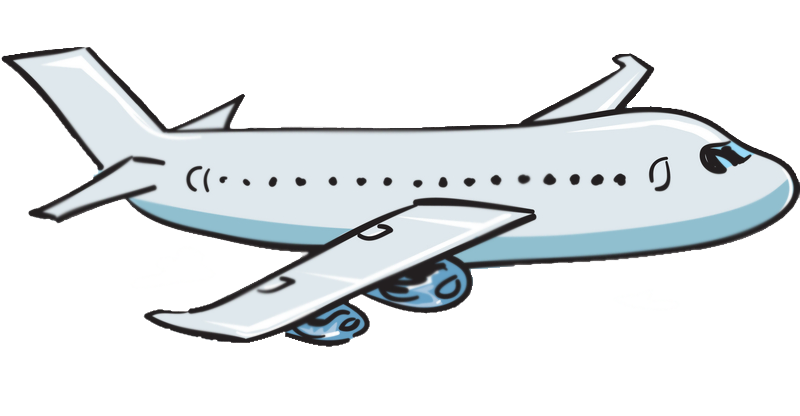 800x416 Flight clipart transparent plane