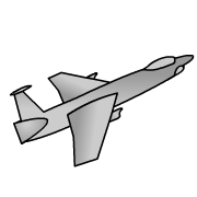 180x180 Jets Clipart