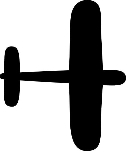492x591 Airplane Clip Art