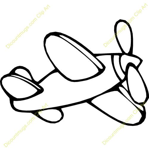 500x500 Drawn Airplane Clipart White
