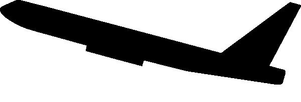 600x205 Jet Plane Clip Art