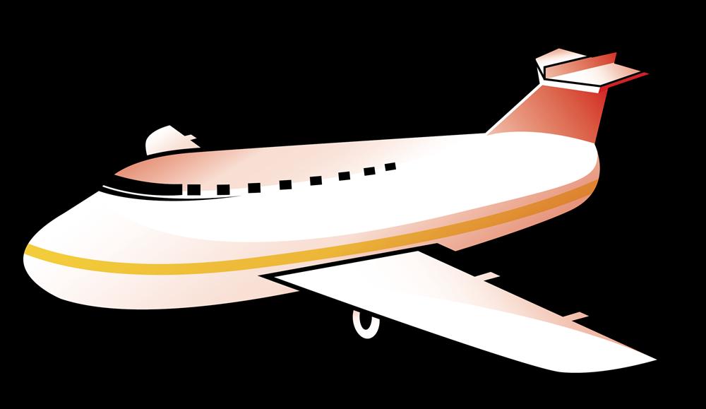 1000x579 Plane Clipart