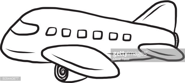 616x278 Airplane Clipart Black And White Craft Projects, Black And White