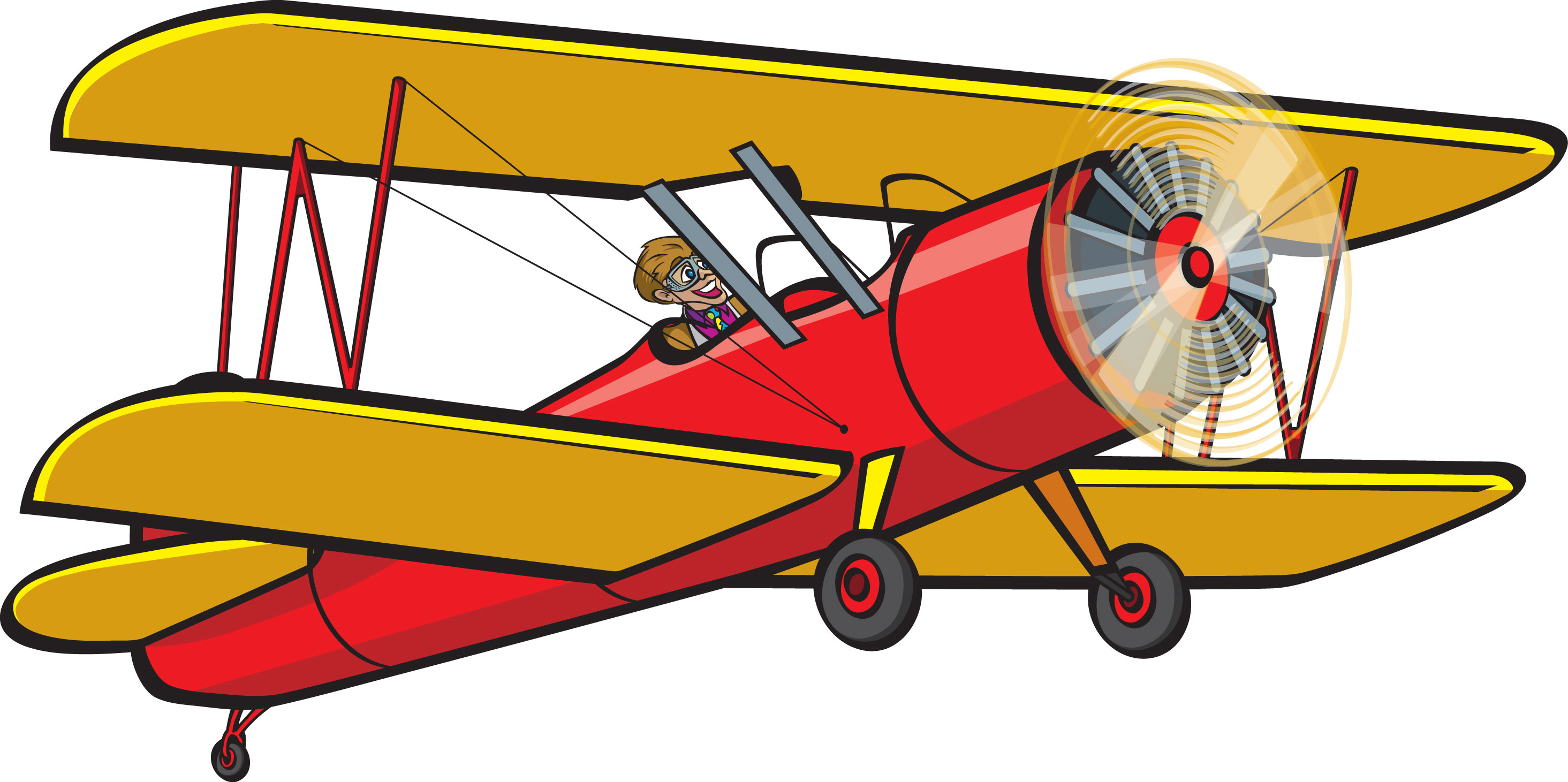2929x1461 Aviation Clipart Old Plane