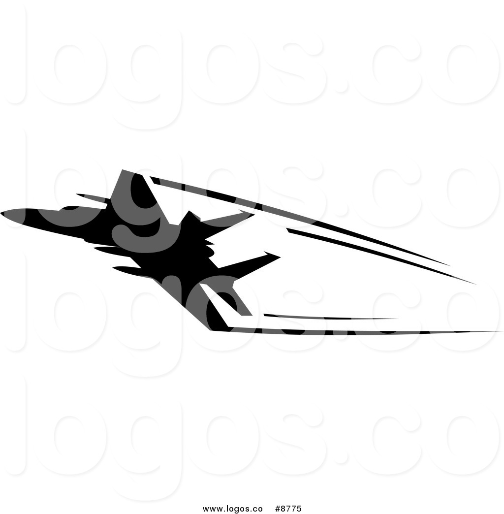 1024x1044 Royalty Free Clip Art Vector Logo Of A Silhouetted Airplane