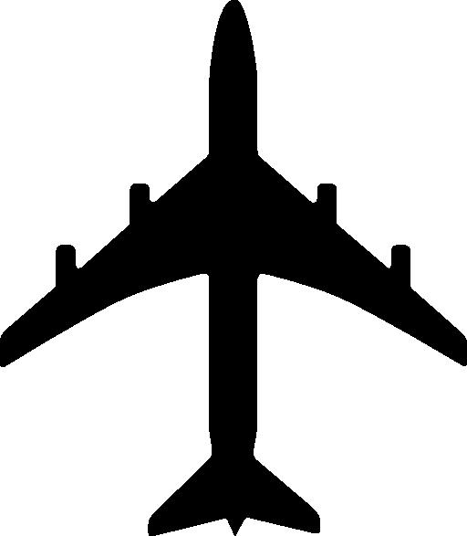 512x587 Plane Clipart I2clipart