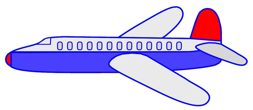 1024x446 Aircraft Clipart Blue Airplane