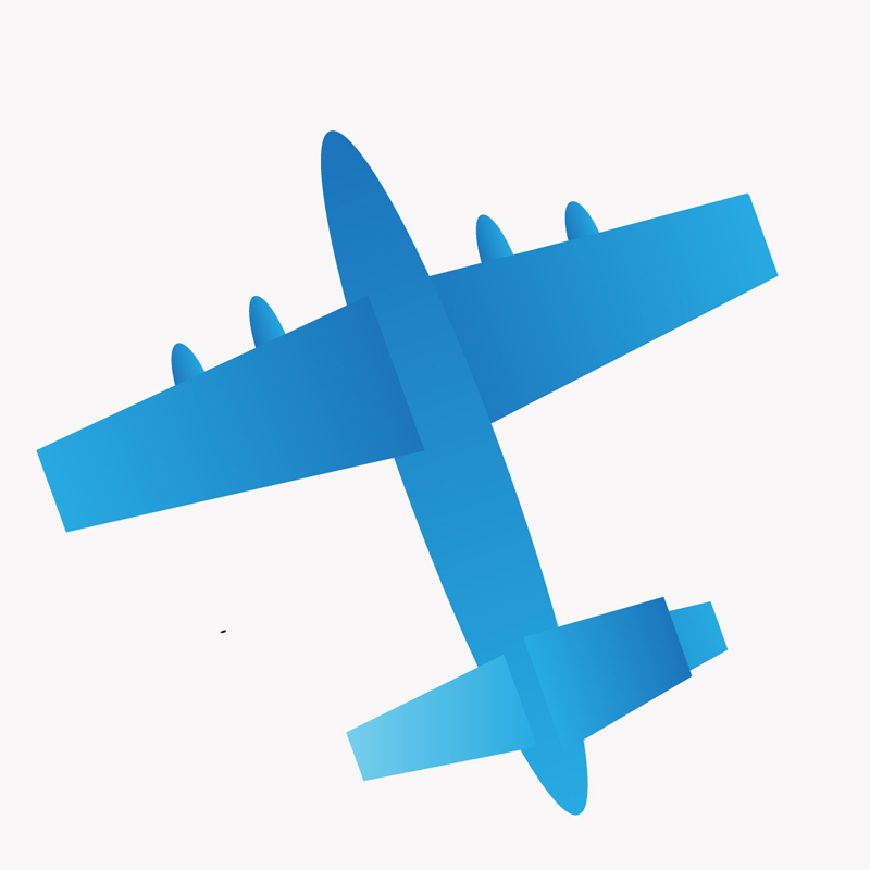 800x800 Weekly Doodles And Tuts How To Make A Plane Silhouette