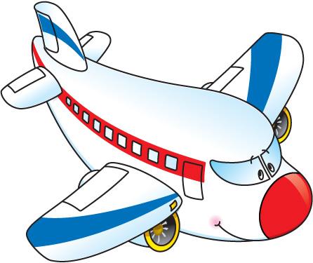 446x375 Plane Clipart