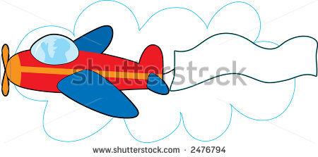 450x223 Airplane Clipart Banner Clipart