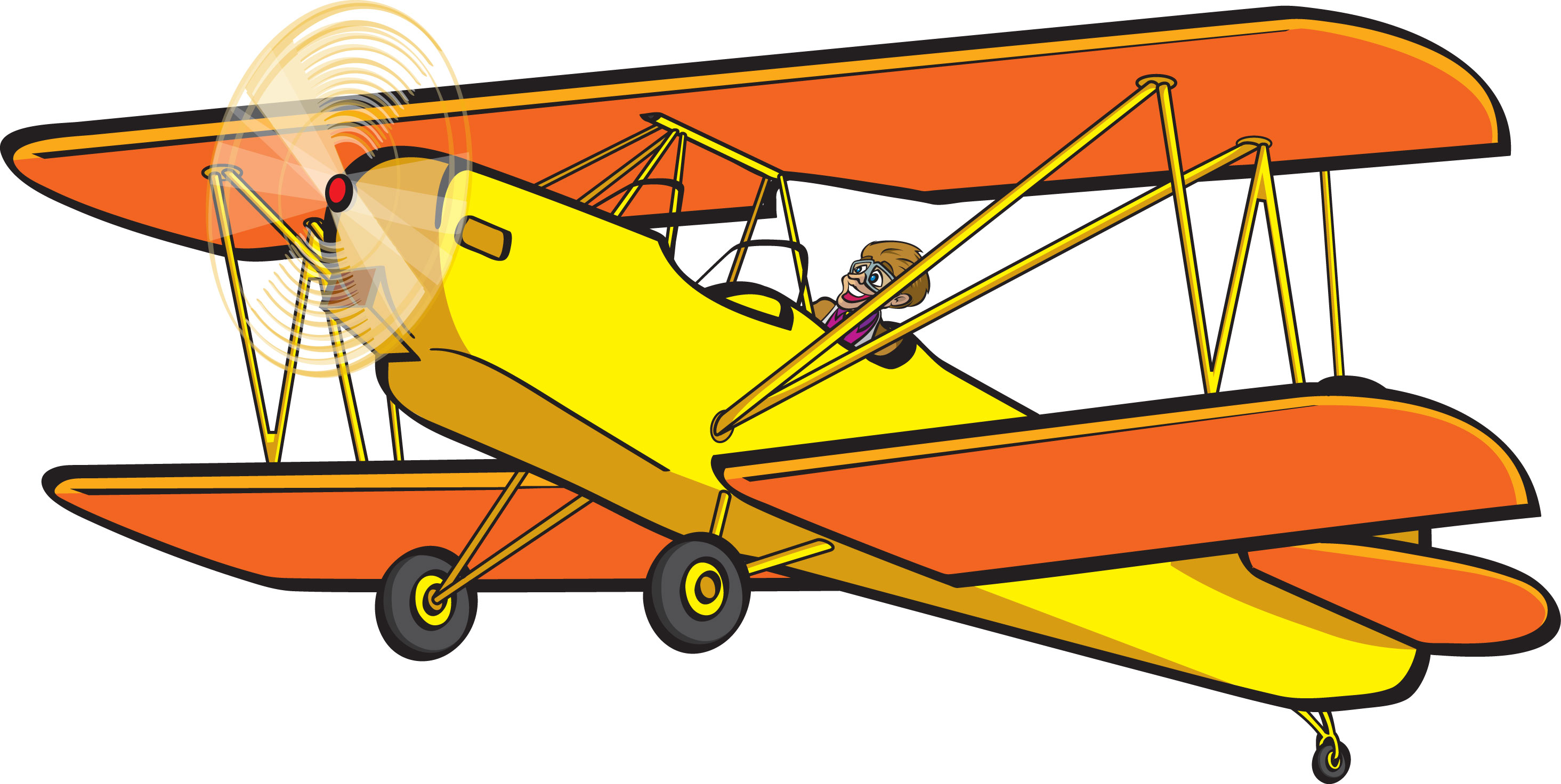 2929x1472 Aviation Clipart Old Plane
