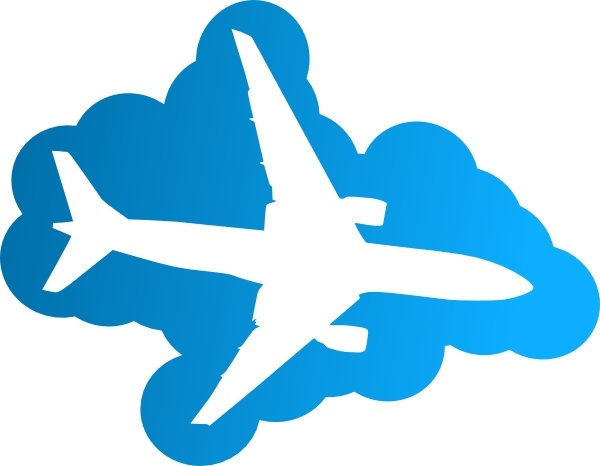 600x466 Plane In The Sky Clip Art Free Vector In Open Office Drawing Svg