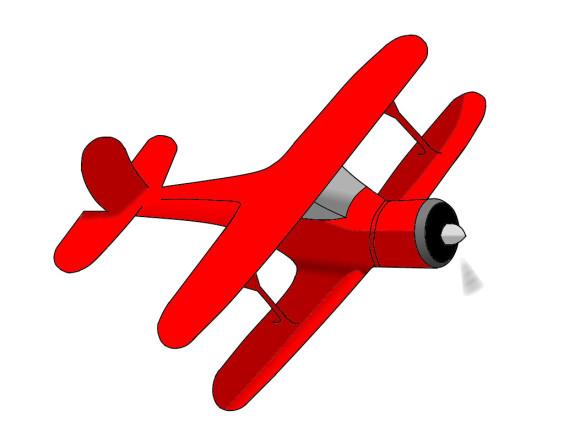 580x421 Airplane Clip Art