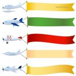 150x150 Airplane With Banner Clipart Amp Airplane With Banner Clip Art