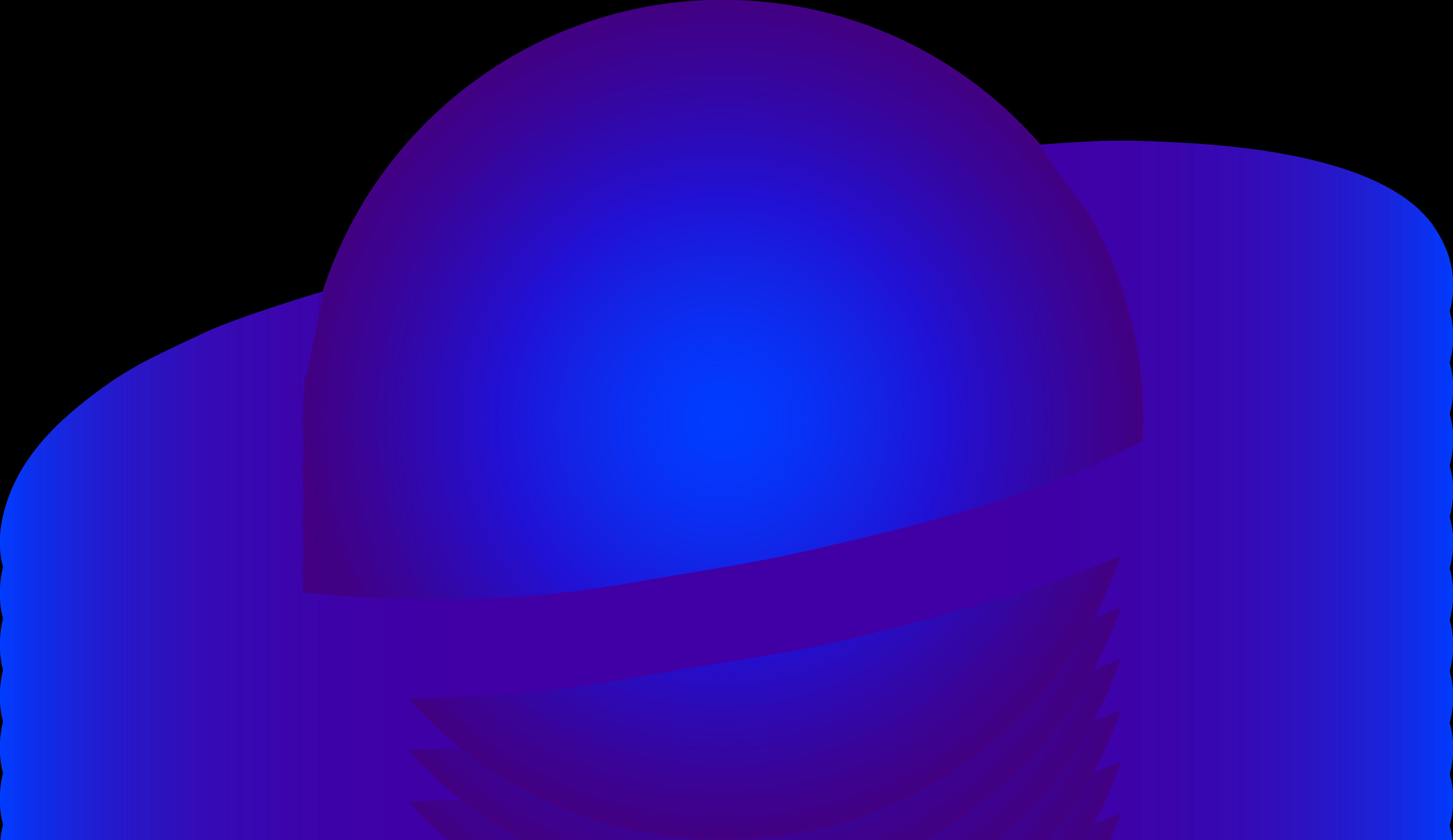 6071x3511 Blue Alien Ringed Planet