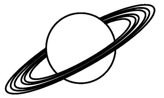 555x332 Planet Clip Art Black And White Clipart Panda