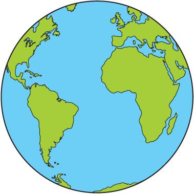 379x379 Globe Planet Earth Black Clipart Clipart Kid