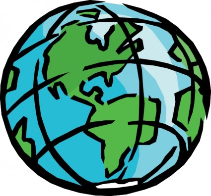425x396 Planet Earth Clip Art