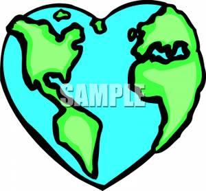 300x278 Heart Shaped Planet Earth