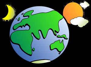 300x221 433 Planet Earth Clipart Public Domain Vectors
