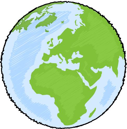 487x494 Planet Earth Clipart Transparent
