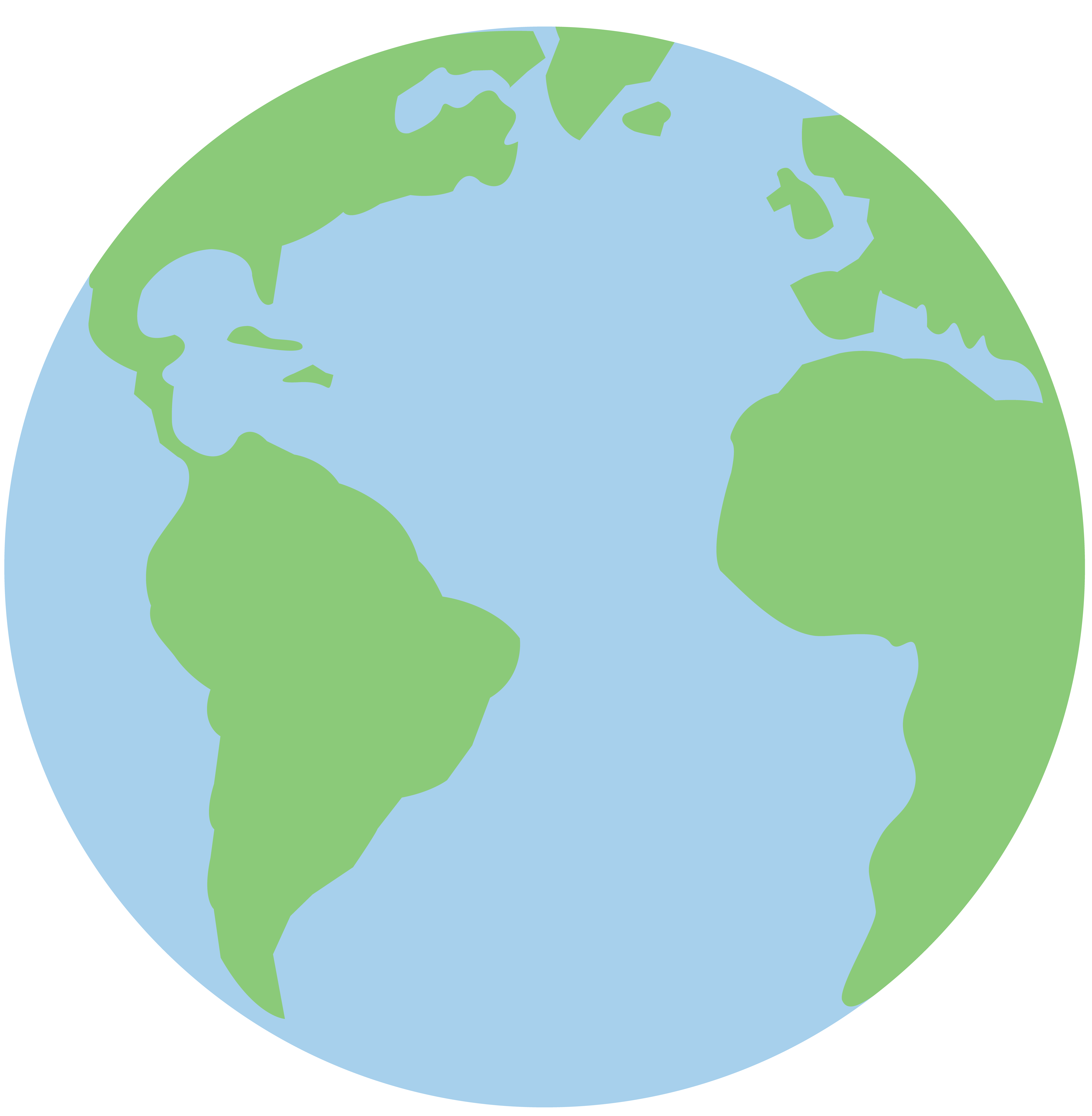 7205x7362 Pastel Colored Planet Earth