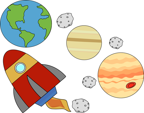 500x392 Planets Clipart Outer Space