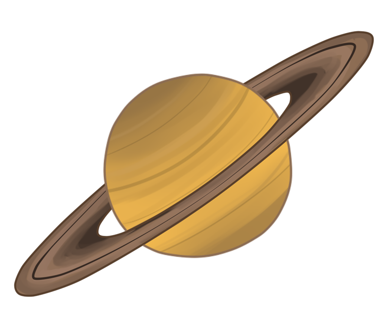 800x665 Planets Clipart Saturn