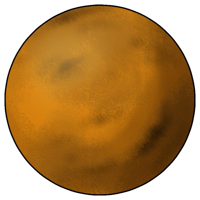 800x800 Planets Clipart Venus