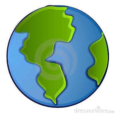 400x394 Planets clipart animated globe