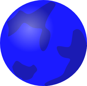 300x299 Planets clipart colored