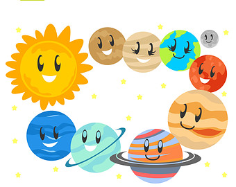 340x270 Cute Planets Pics About Space Clipart Image