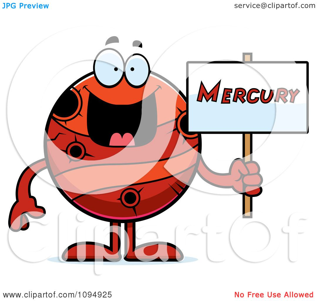 1080x1024 Planets Clipart Mercury