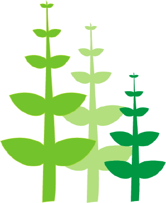 340x414 Green Plants clip art