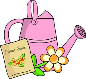 300x275 Gardening Clipart Image