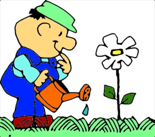 600x531 Planting Flower Free Images