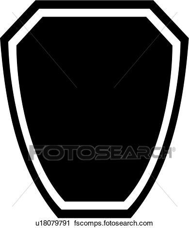 390x470 Clipart Of , Badge, Department, Fire, Plaque, Fire Department