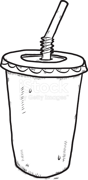 292x593 Drink Clipart Plastic Cup
